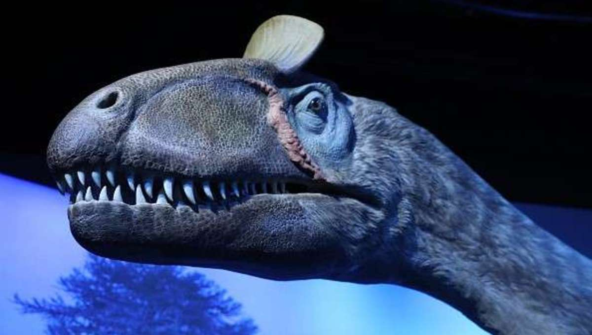 Cryolophosaurus Elvisaurus arctic dinosaur