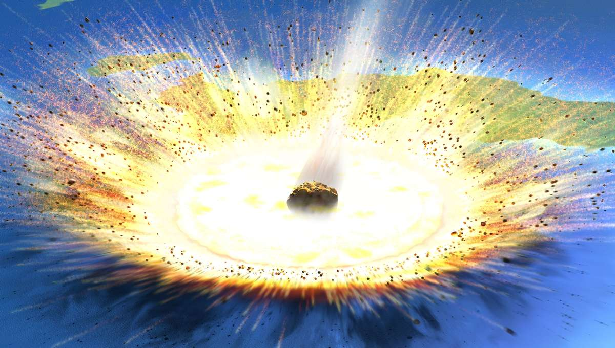 Space Rock Asteroid Landing