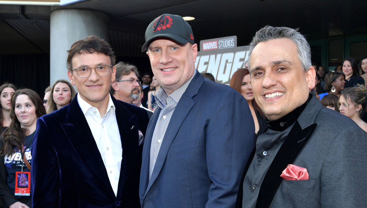 Russo Brothers Kevin Feige Avengers Endgame