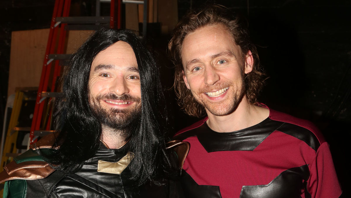 Tom Hiddleston and Charlie Cox Halloween Getty