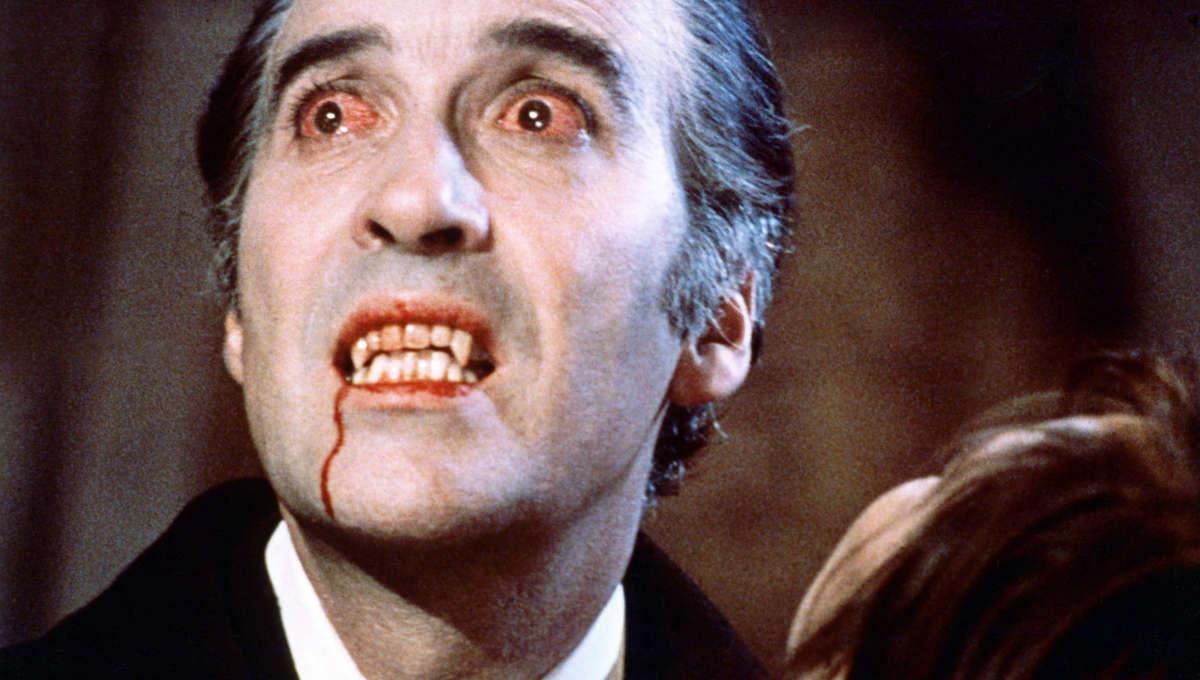 Liz Christopher Lee Dracula