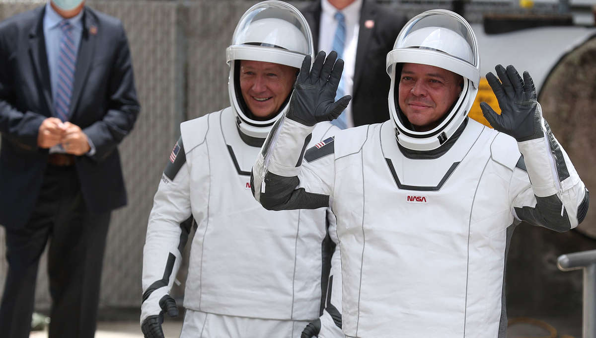 SpaceX Demo-2 astronauts