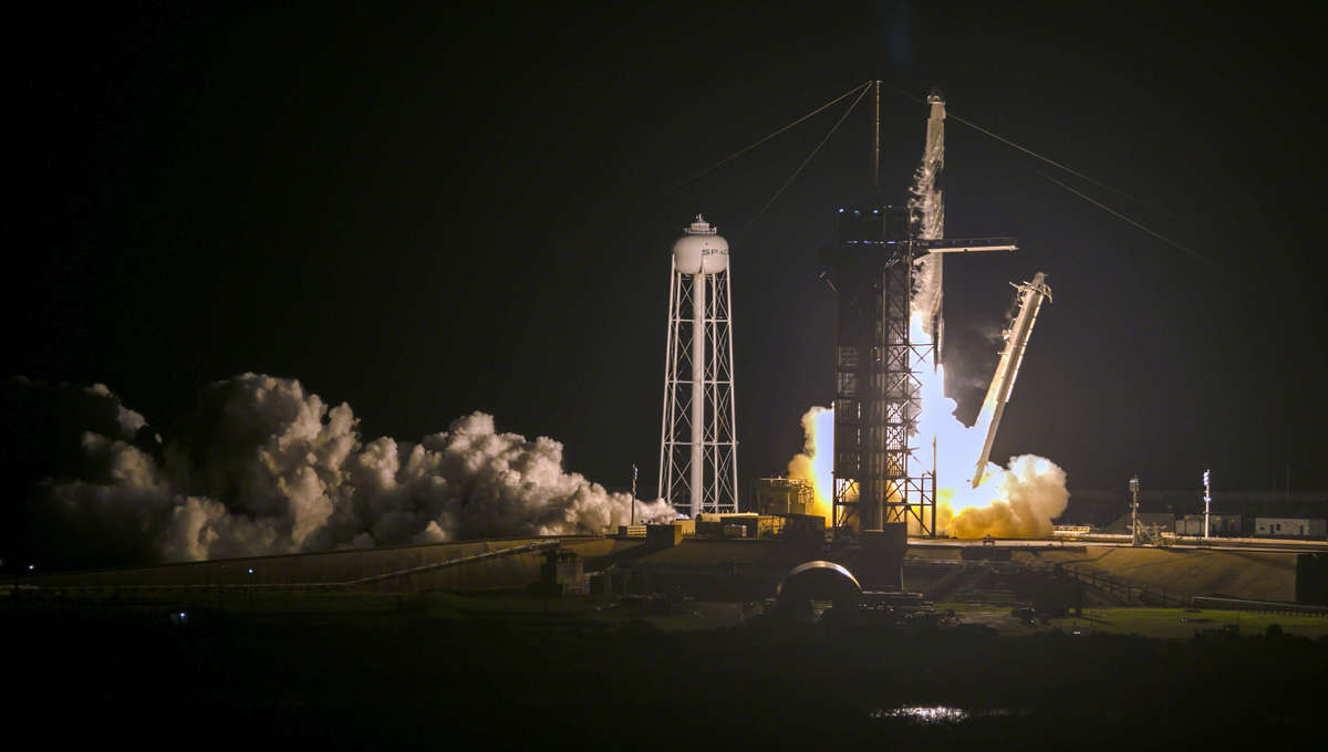 SpaceX Falcon 9 rocket and Dragon spacecraft