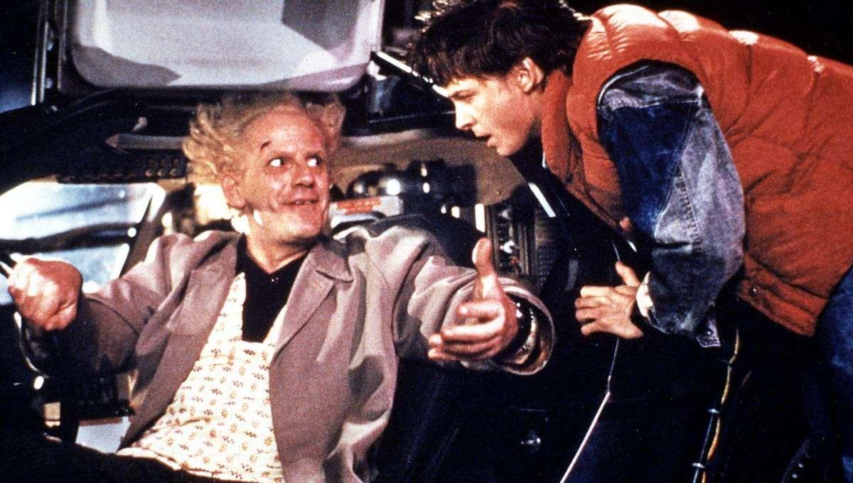 Back To The Future Christopher Lloyd Michael J. Fox