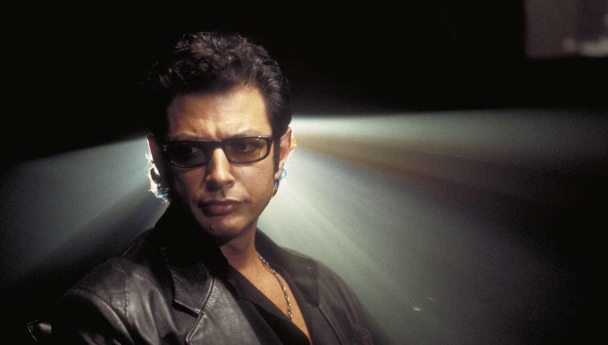 Liz Jeff Goldblum Dr. Ian Malcolm Jurassic Park