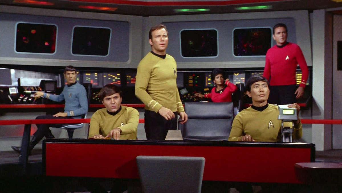 Star Trek Cast Still