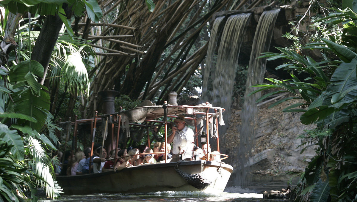 Jungle Cruise Disney ride
