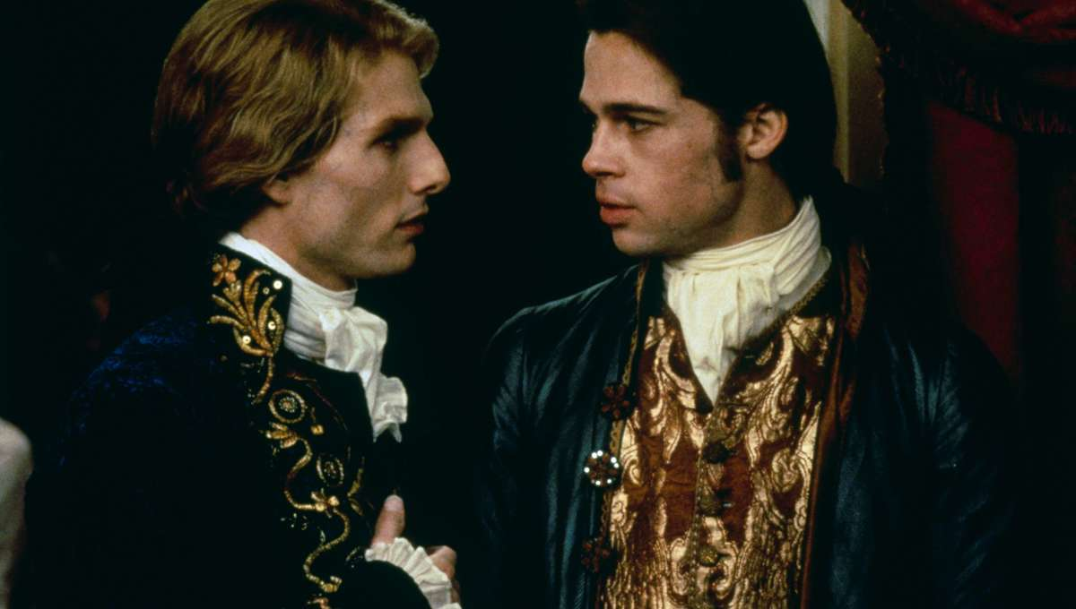 Tom Cruise and Brad Pitt star in Interview with the Vampire: The Vampire Chronicles
