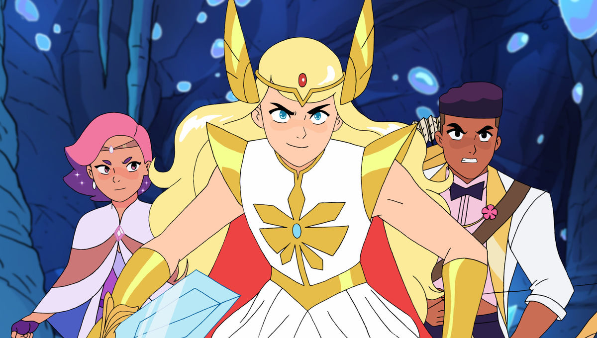 She Ra Glimmer and Bow