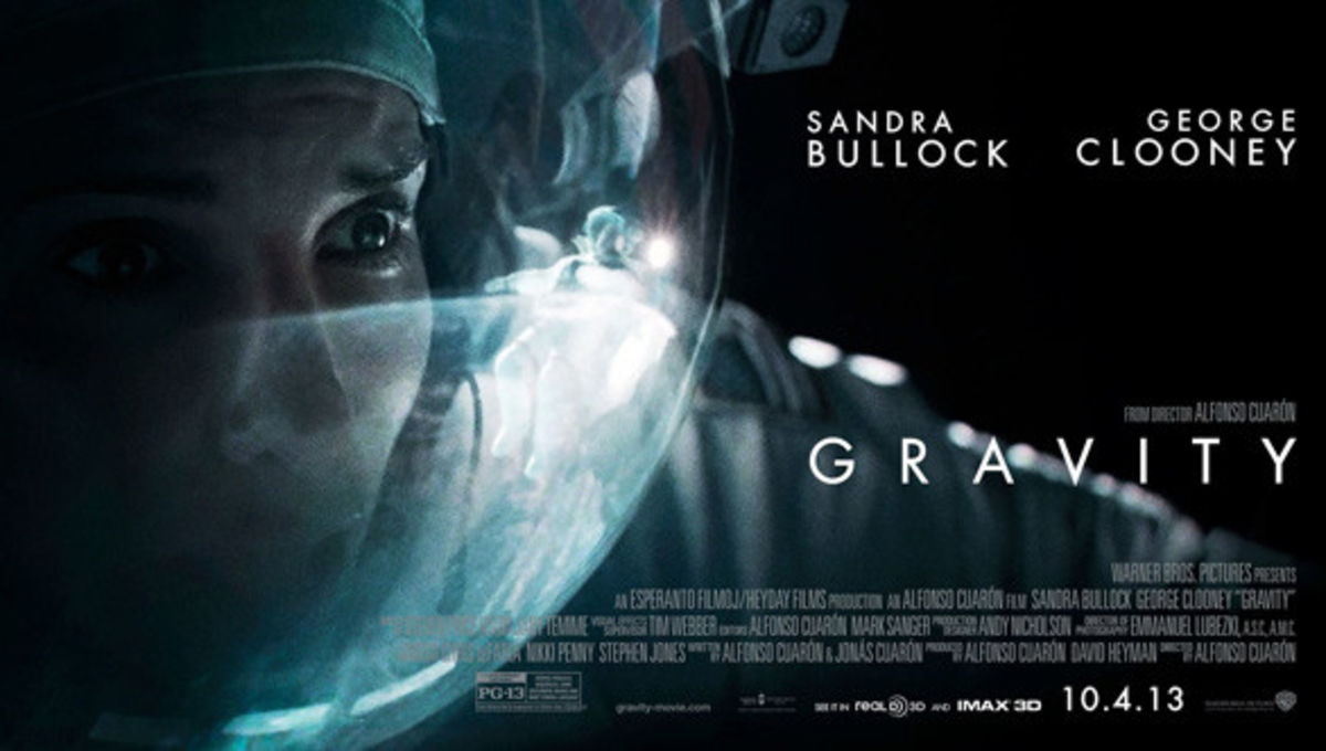 """Movie poster for """"Gravity"""". Credit:Warner Bros. Pictures"""