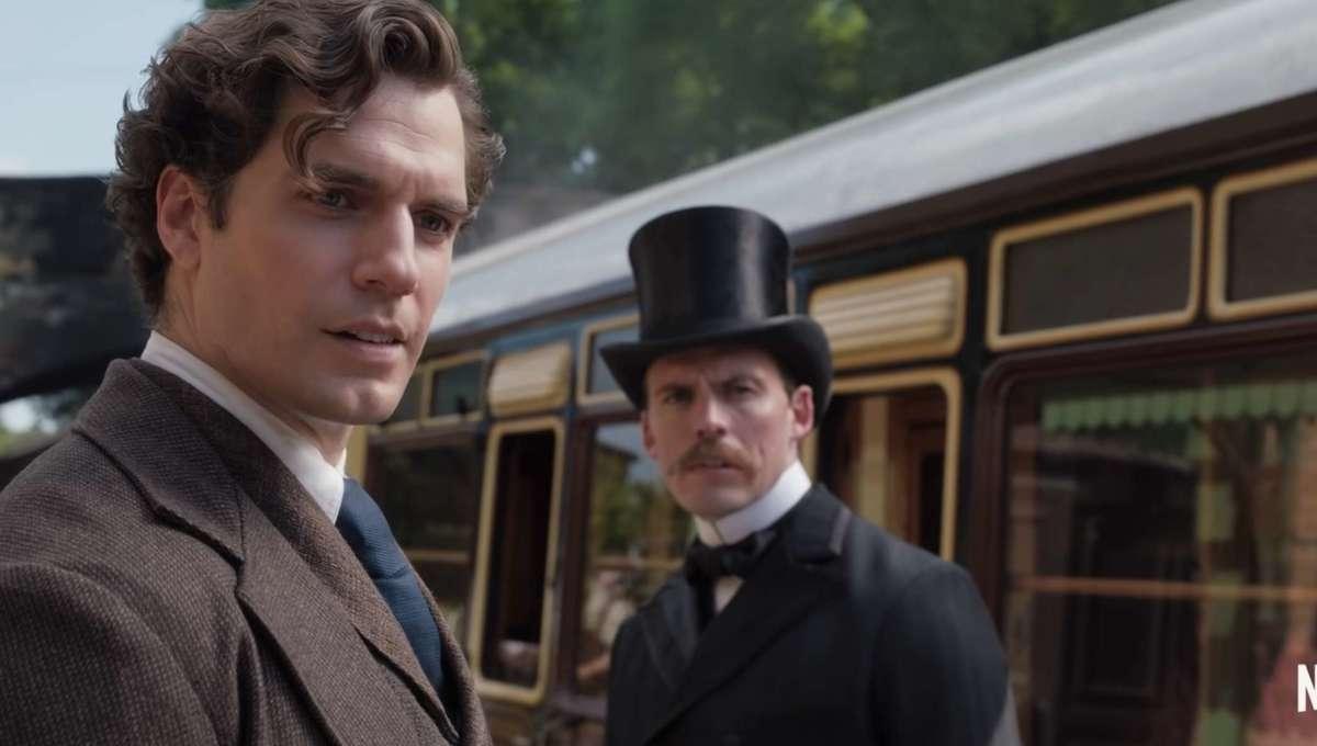 Henry Cavill Enola Holmes hero