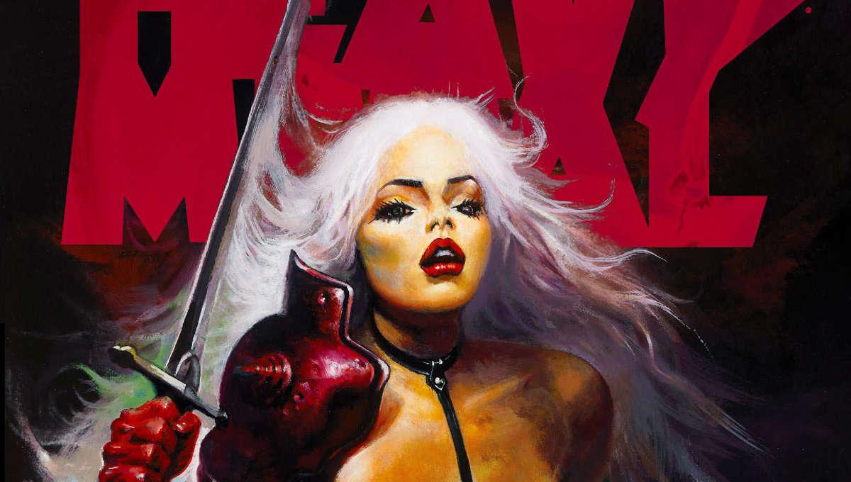 Heavy Metal 308 Taarna Cover Ken Kelly