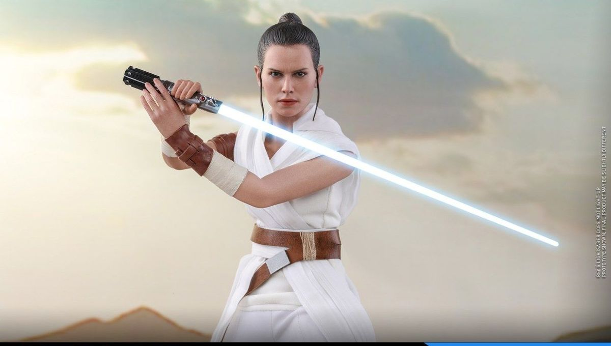 Hot Toys Rey and DO