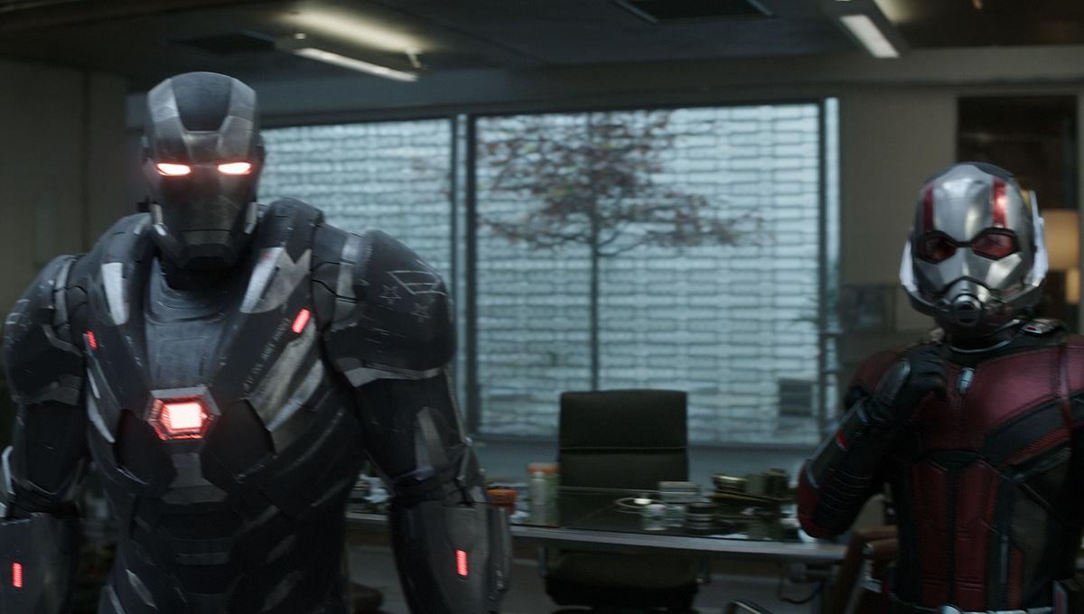 War Machine and Ant-Man Avengers: Endgame