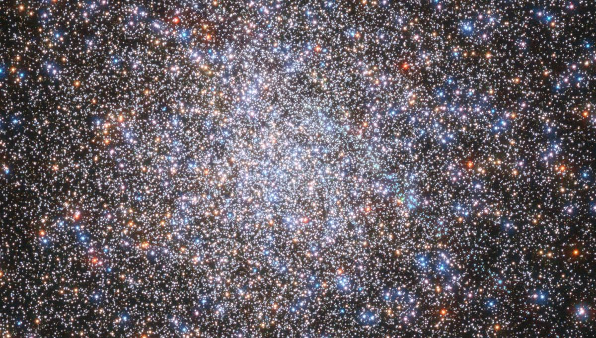 The core of the globular cluster M2 is packed with stars. Credit: ESA/Hubble & NASA, G. Piotto et al.