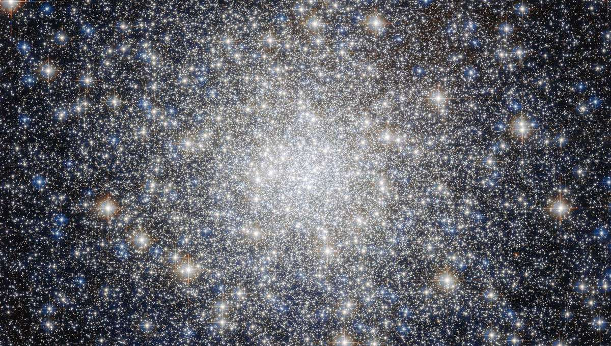 M92, a globular cluster about 27,000 light years from Earth. Credit: ESA/Hubble & NASA Acknowledgement: Gilles Chapdelaine