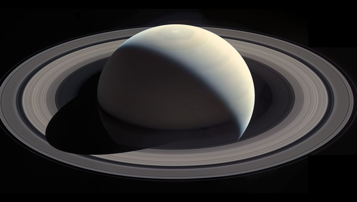This magnificent view of Saturn was created using images taken by Cassini on October 28, 2016, and merged into a mosaic by Ian Regan. Credit: NASA / JPL / SSI / Ian Regan