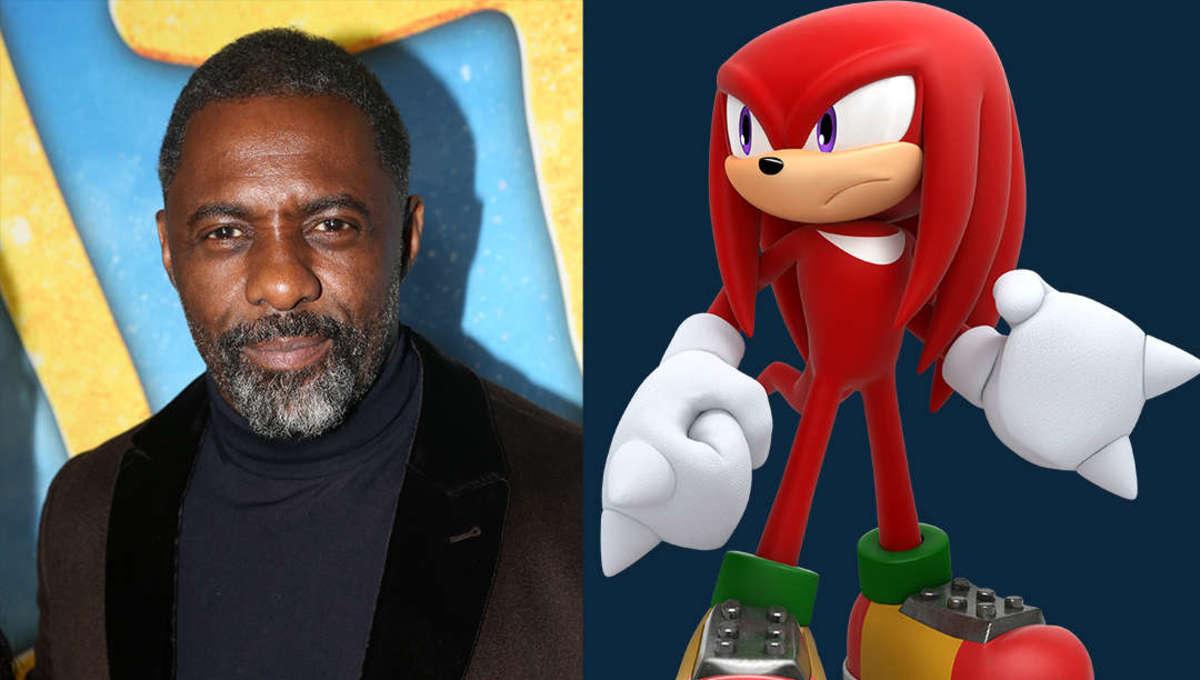 Sonic the Hedgehog Knuckles Idris Elba