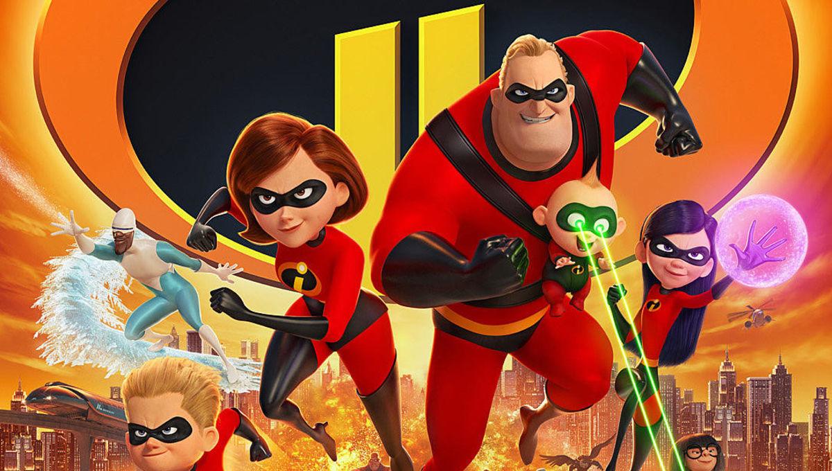 Incredibles 2 April Poster