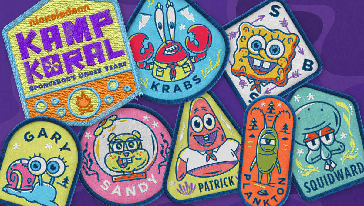 Kamp Koral Patches SDCC 2020