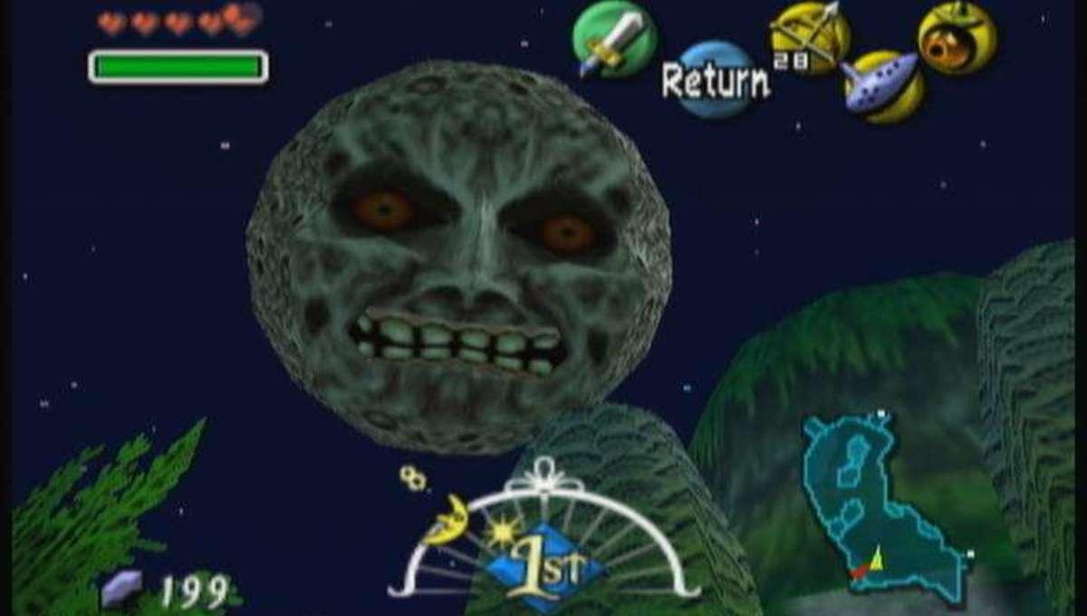 Legend of Zelda Majoras Mask Moon