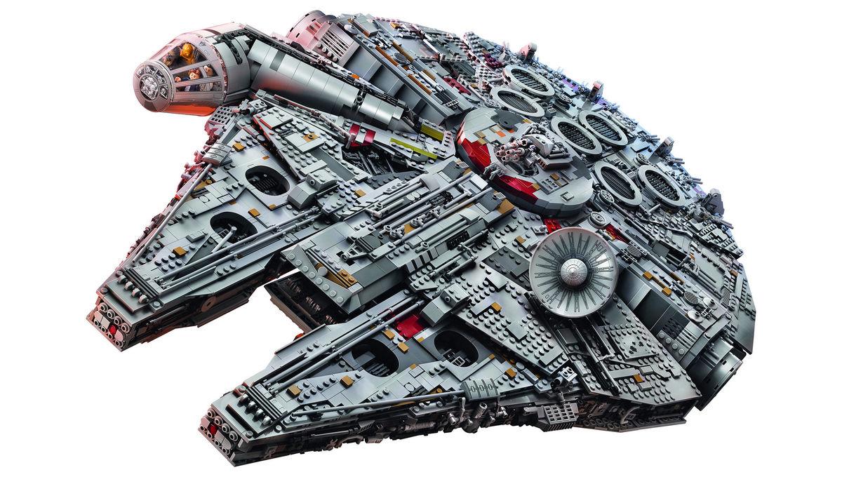 lego millennium falcon