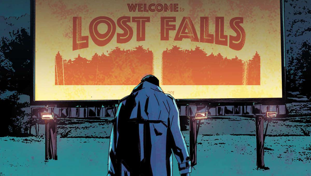 Lost Falls COVER