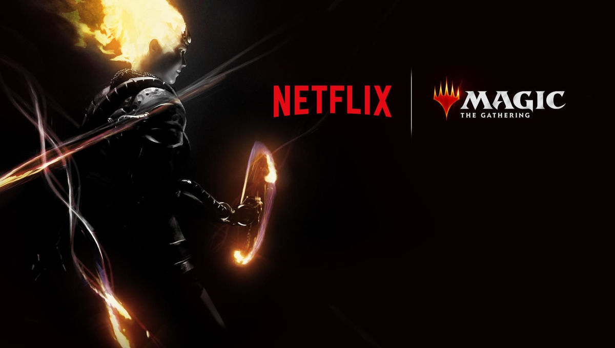 Teaser art for Magic the Gathering at Netflix