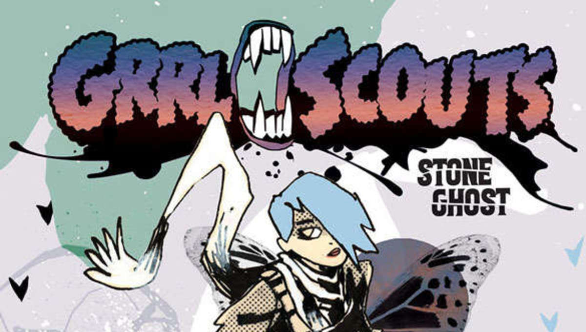 GRRL Scouts Stone Ghost Cover A