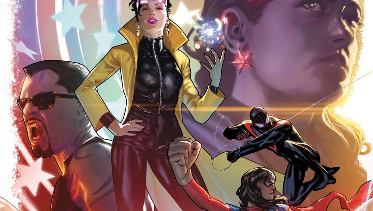 Marvel Voices Legacy #1 cover reveal