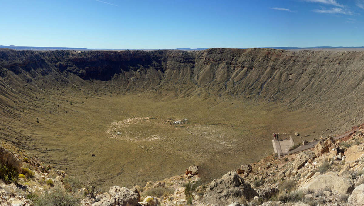 Meteor Crater in Arizona is one of the best-preserved impact craters on Earth. Credit: Mario Roberto Durán Ortiz