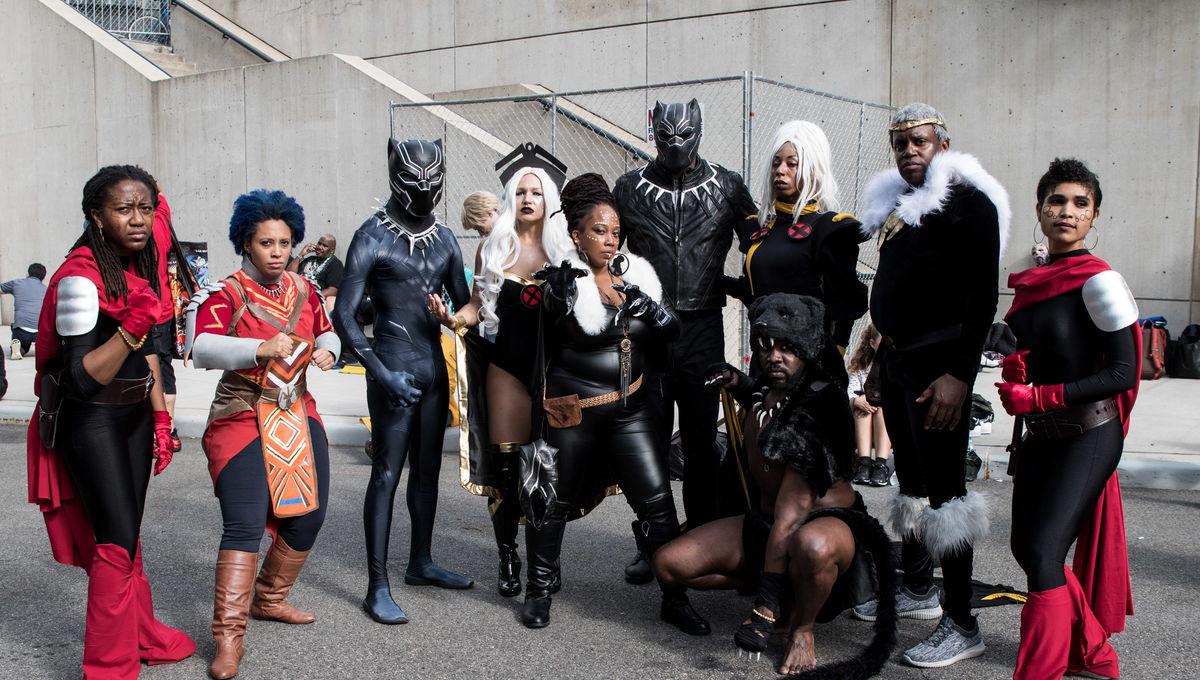 Black Panther comic con