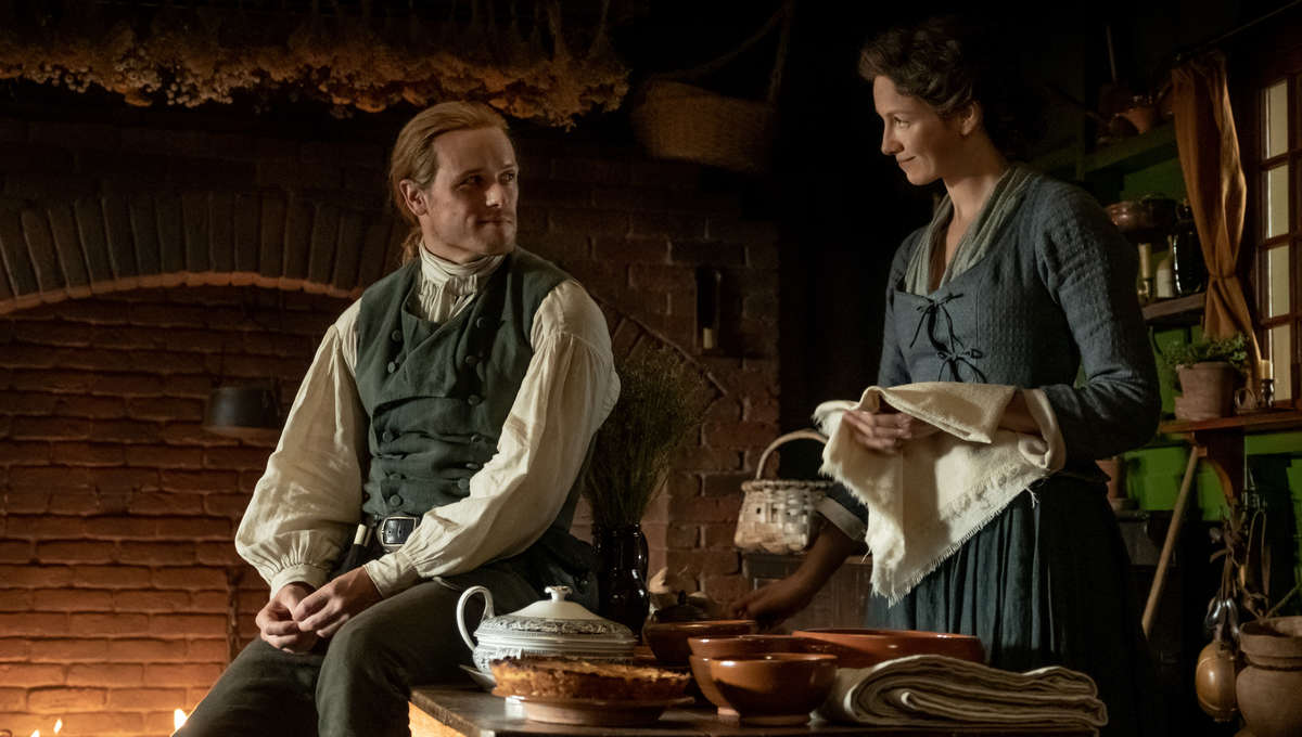 Outlander 508 Jamie and Claire