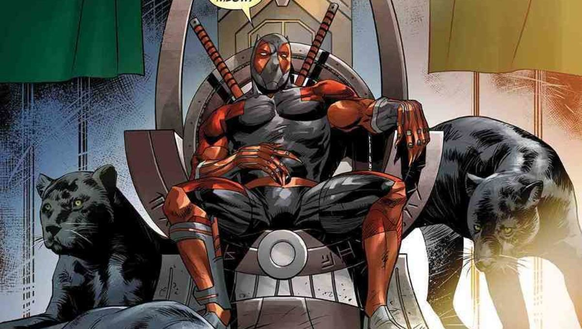 Deadpool Black Panther cover