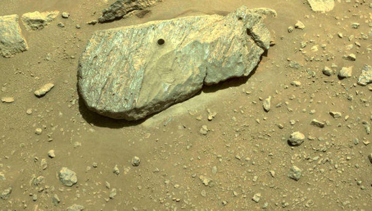 Liz Perseverance Rover Rock Sample