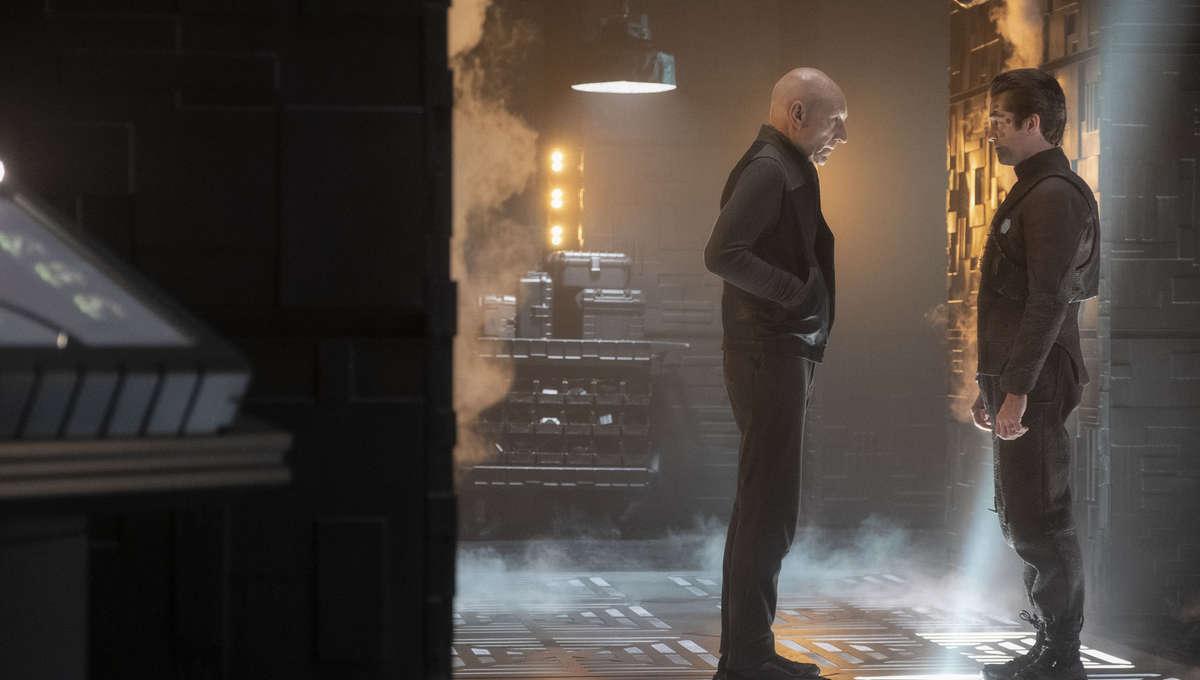 Picard and Hugh meet