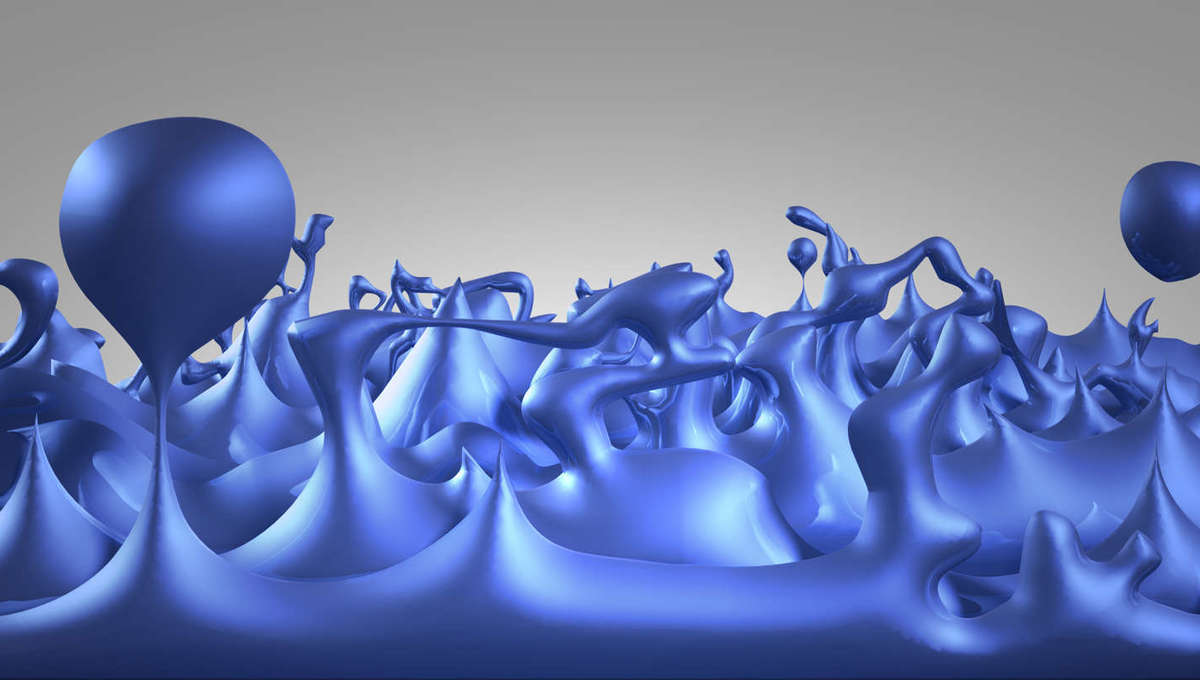 Illustration of quantum foam, where energies forth on a scale of one-billion-trillion-trillionth of a centimeter, and particles pop into and out of existence. Credit: NASA/CXC/M.Weiss
