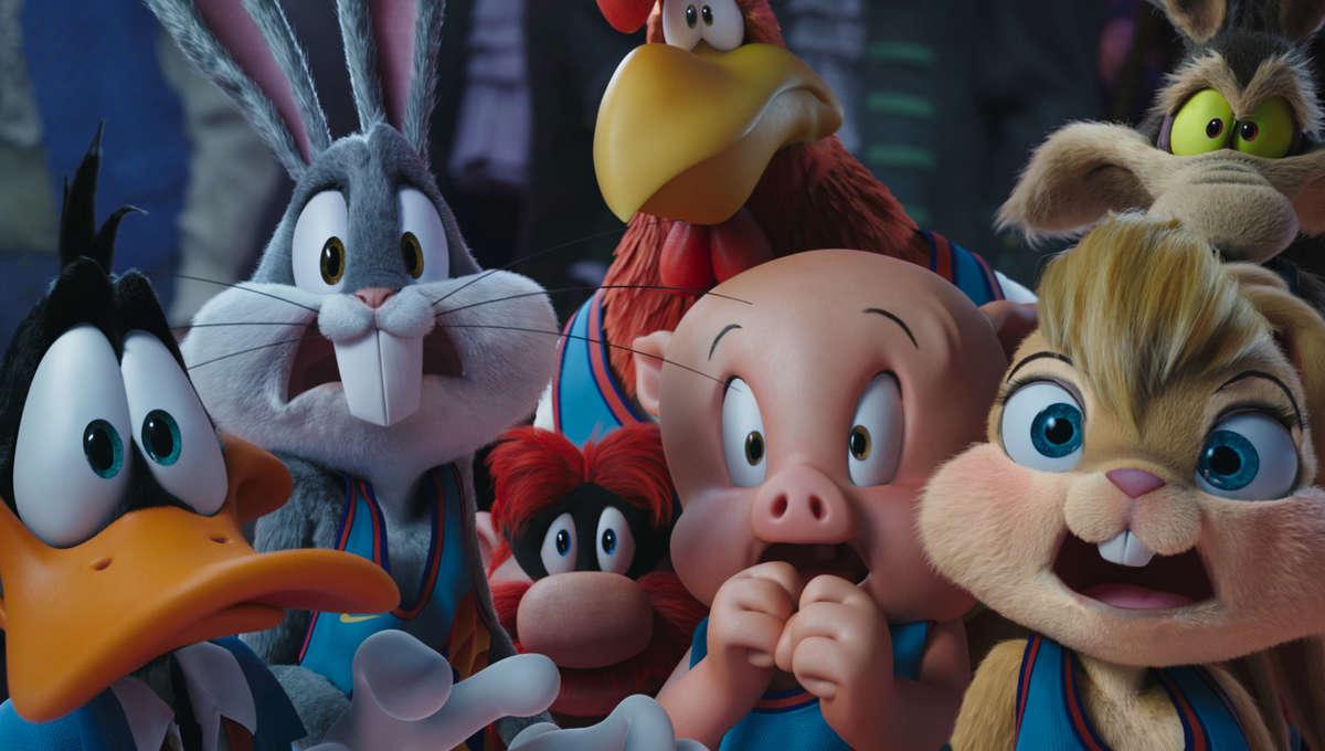 Space Jam 2 Still Bugs Bunny Lola Daffy
