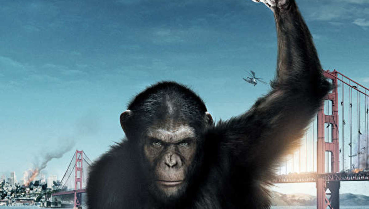 Rise of the Planet of the Apes Poster Header