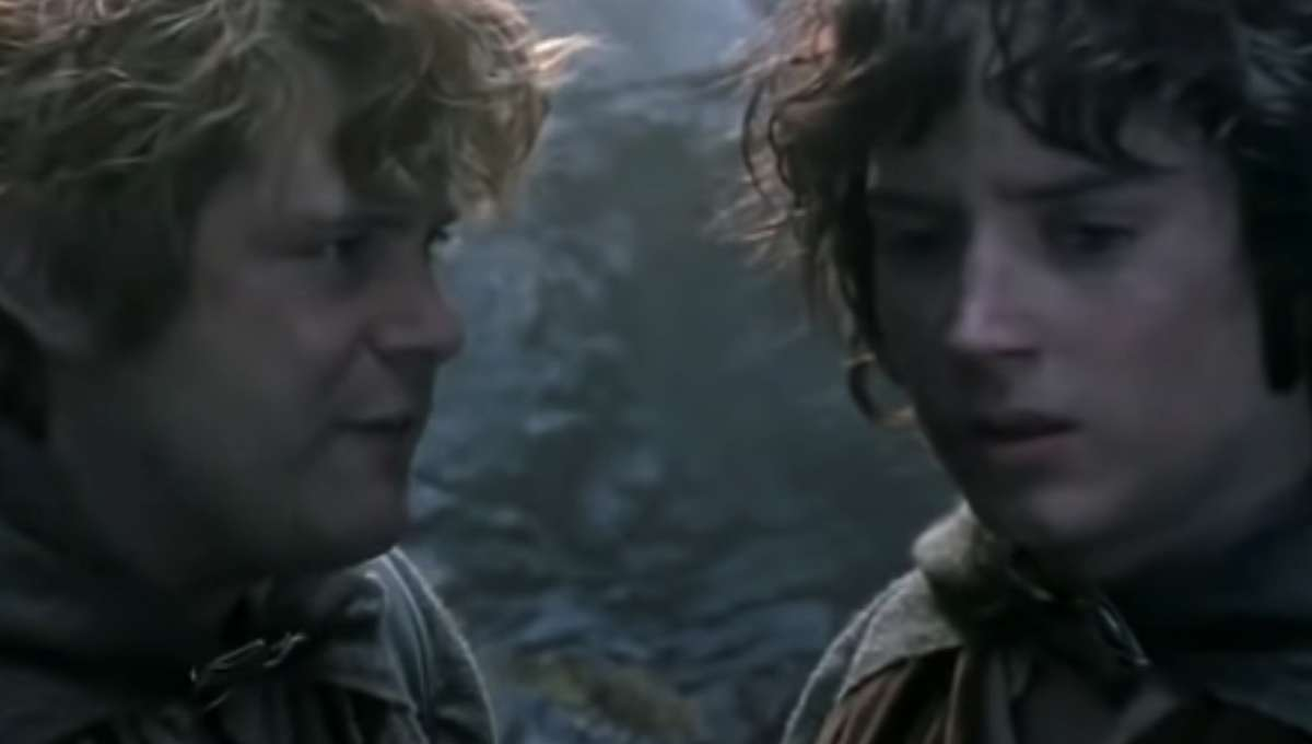 Lord of the Rings Frodo and Samwise
