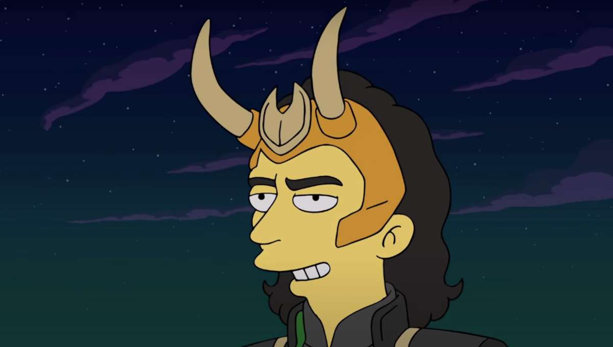 The Simpsons the Good the Bart and the Loki Still