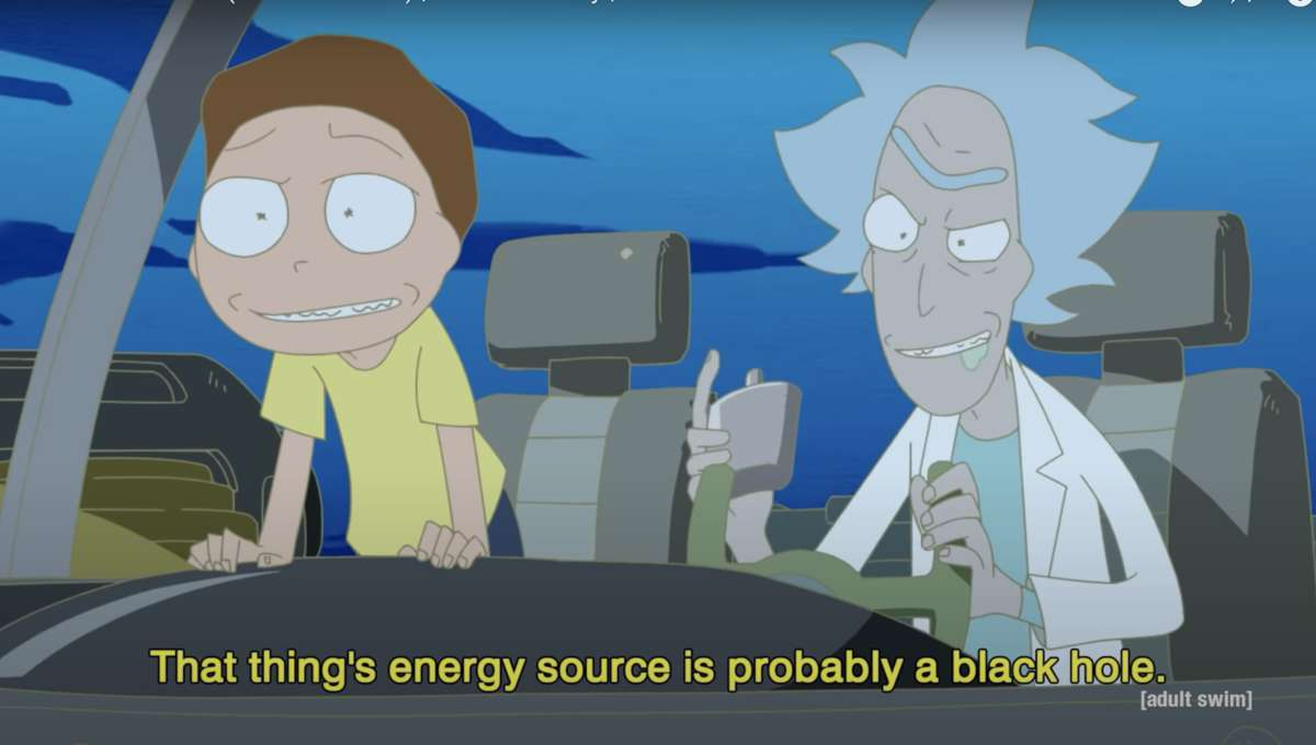 Rick and Morty Anime Still