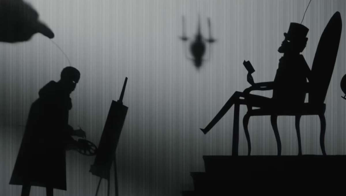 Candyman Shadow Puppetry