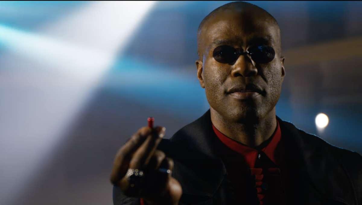 YAhya Abdul-Mateen Morpheus Matrix Resurrections