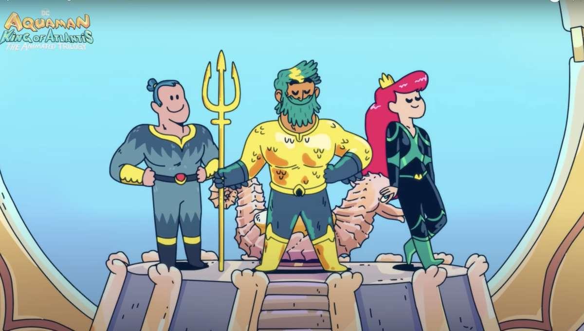 Aquaman: King of Atlantis Trailer Still