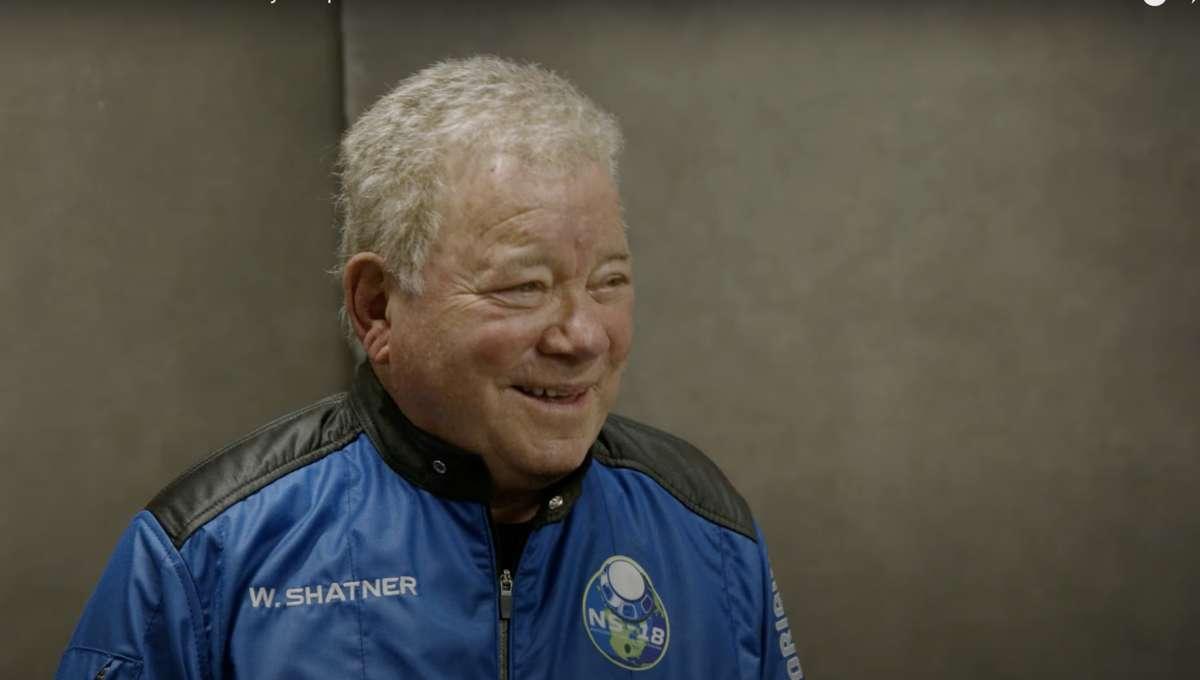 William Shatner Space Suit