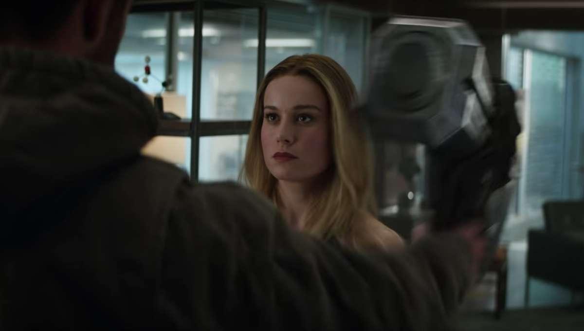 Carol Danvers, Brie Larson, Avengers: Endgame Thor scene