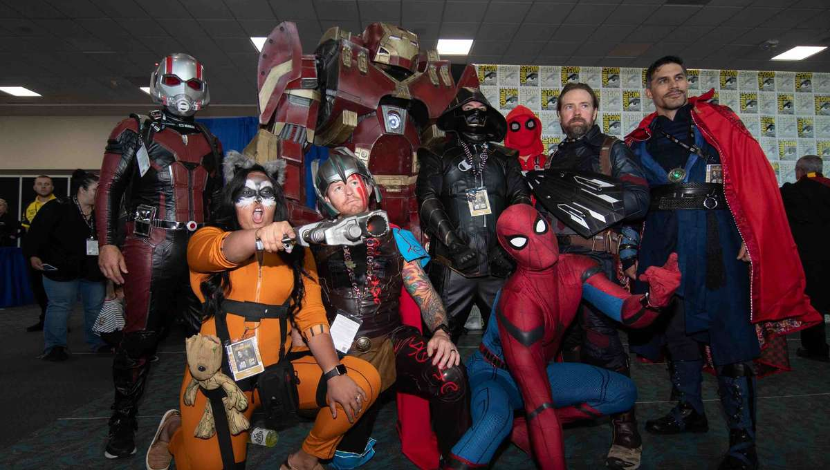 SDCC 2019 Friday Cosplay 65