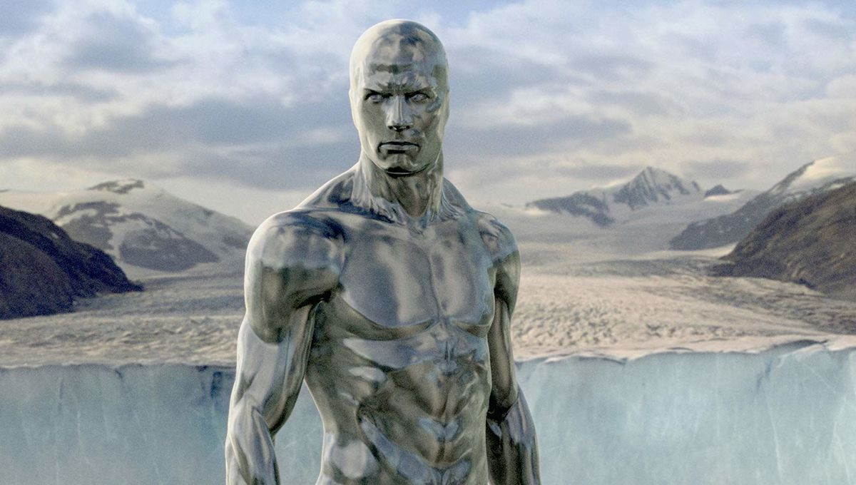 Silver Surfer in 4: Rise of the Silver Surfer