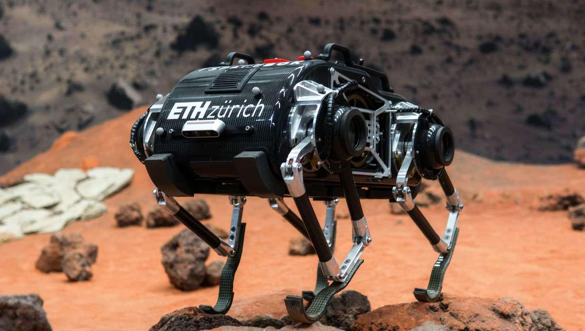 ESA SpaceBok Robot
